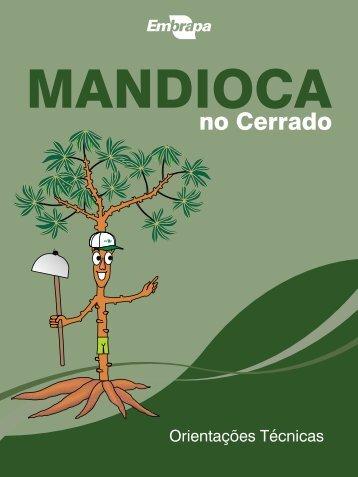 Mandioca no Cerrado: orientações técnicas. - Ainfo - Embrapa