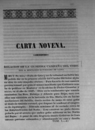 Carta Novena - Bicentenario