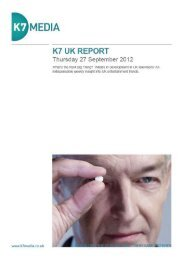 K7 UK REPORT Thursday 27 September 2012.pdf - K7 Media