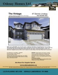 The Vintage - Odessy Homes