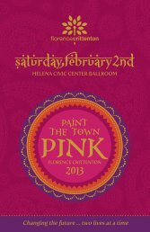 download auction preview click here - Paint the Town Pink 2013
