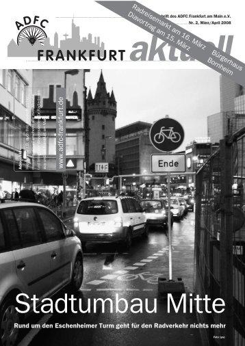 Ihr Gebiss würden Sie nie von einem Laien ... - ADFC Frankfurt