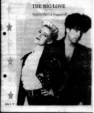 Revista oficial fans club Roxette Rosario 1995 - Dn11.com.ar