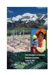 Plan Estratégico de Desarrollo Regional Concertado Cusco al 2021