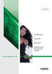 Quarterly Report 1/2002 - Lenzing