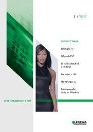 Quarterly Report 2/2002 - Lenzing
