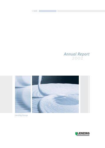 Annual Report 2002 (1.5 MB) - Lenzing