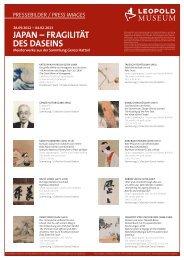 Pressebilder / Press Images - Leopold Museum