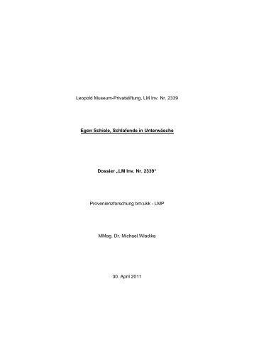 Egon Schiele, Schlafende in Unterwäsche