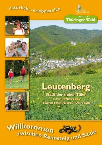 Klick zum Imageprospekt - Stadt Leutenberg