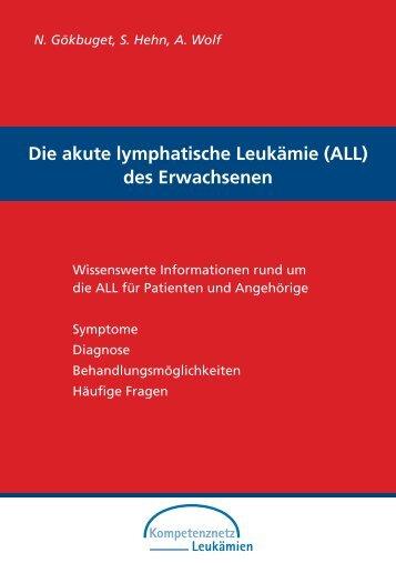 (ALL) des Erwachsenen - Leukämiehilfe RHEIN-MAIN geV