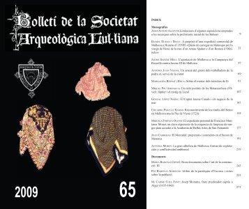 B. S. A. L. 65 - Biblioteca Digital de les Illes Balears - Universitat de ...