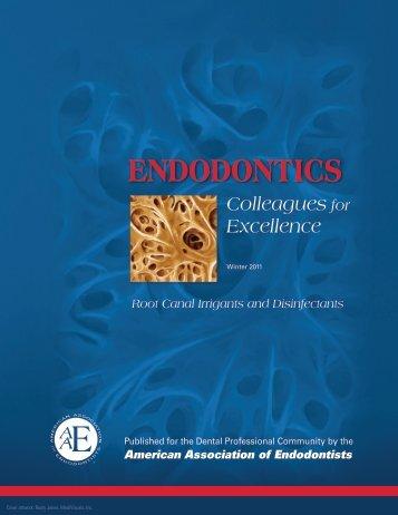 Endodontics Endodontics - American Association of Endodontists