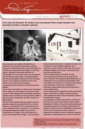 Livro Casa de Oxumarê - Pierre Fatumbi Verger