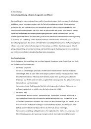 Dr. Peter Kompe Atemschutzausbildung – attraktiv, lerngerecht und ...