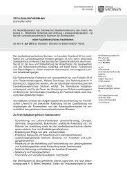 Fachlehrer - Landesfeuerwehrschule Sachsen
