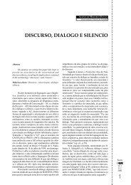 1 - Discurso, diálogo e silêncio - GELNE