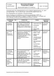 Musterausbildungsplan Fortbildung ASNR [Download,*.pdf, 0,02 MB]