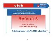 vfdb - Persönliche Schutzausrüstung [Download,*.pdf, 0,47 MB]