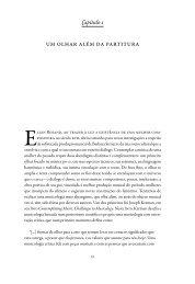 um olhar além da partitura - Livraria Martins Fontes