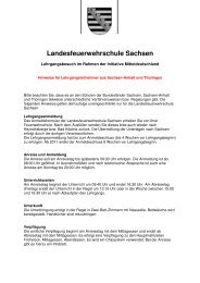 Hinweise für Lehrgangsteilnehmer aus Sachsen-Anhalt und ...