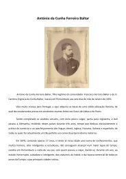 António da Cunha Ferreira Baltar