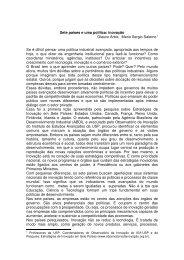 Glauco Arbix e Mario Sergio Salerno, O Estado de S. Paulo ...