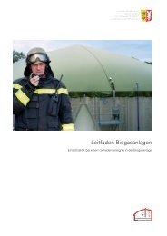 Leitfaden Biogasanlagen - Landesfeuerwehrschule Schleswig ...