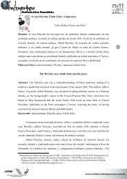 O caso Dreyfus, Émile Zola e a imprensa