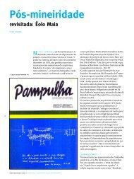 Pos-mineiridade revisitada: Eolo Maia - mdc . revista de arquitetura ...