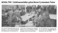 SCHUL-TÜV: Liebfrauenschüler geben ihrem Gymnasium Noten