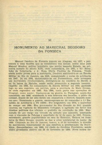 Monumento ao Marechal Deodoro da Fonseca, por Diário de Notícias.