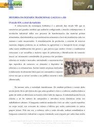 Historia da dozaría galega ( e parte 3) - DeHistoria