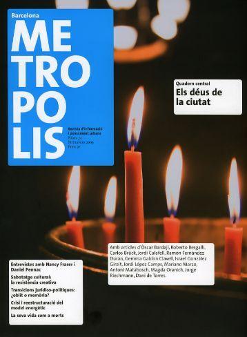 METRÒPOLIS - Ajuntament de Barcelona