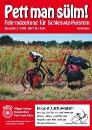 Fahrradfrühling 2007 - ADFC Schleswig-Holstein