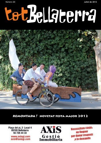 remontada ! novetat festa major 2012 - Tot Bellaterra