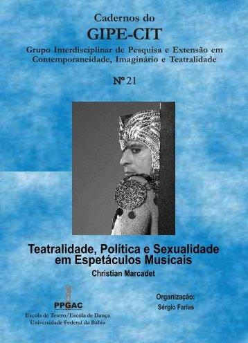 Caderno 21 - Escola de Teatro da UFBA - Universidade Federal da ...