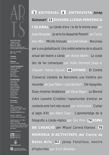 Descarregar PDF - Cercle de Belles Arts de Lleida
