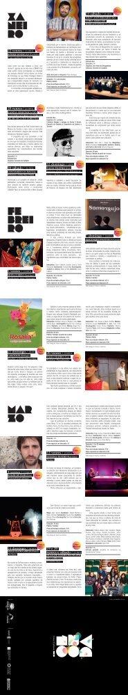 Programa dos Venres Culturais 2010 - Concello de Carballo