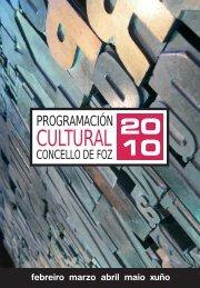 Programa Cultural - Concello de Foz