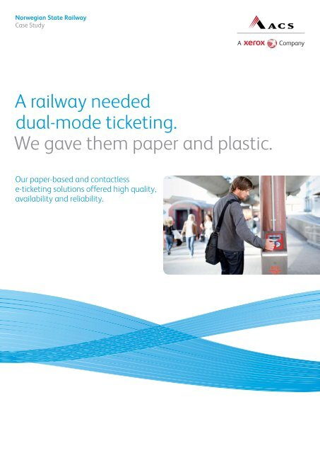 Interoperable e-ticketing system in Norway - Affiliated