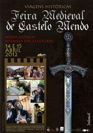 Flyer Feira Medieval C. Mendo 2012
