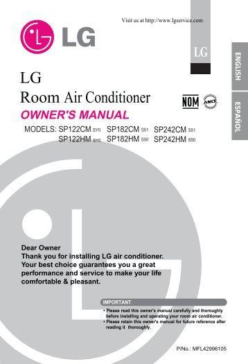 Lg aircon Repair Manual