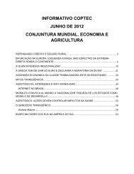 INFORMATIVO COPTEC JUNHO DE 2012 CONJUNTURA ...