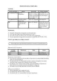 FISIOPATOLOGÍA CORONARIA - Meducar