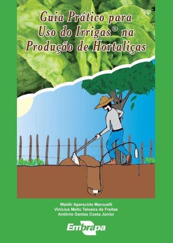 Guia Prático para Uso do Irrigas® na Produção de Hortaliças
