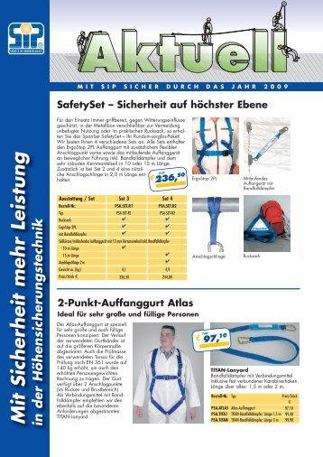 2-Punkt-Auffanggurt Atlas - ABZ Handels GmbH
