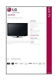 LCD TV - LG Electronics