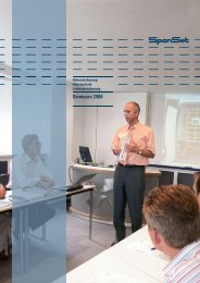 Seminare 2008 - ABZ Handels GmbH