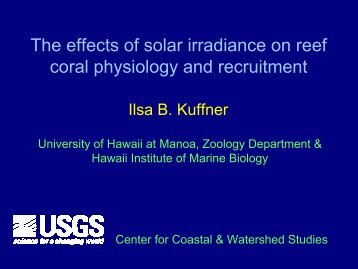 The effects of solar irradiance on reef coral physiology and recruitment